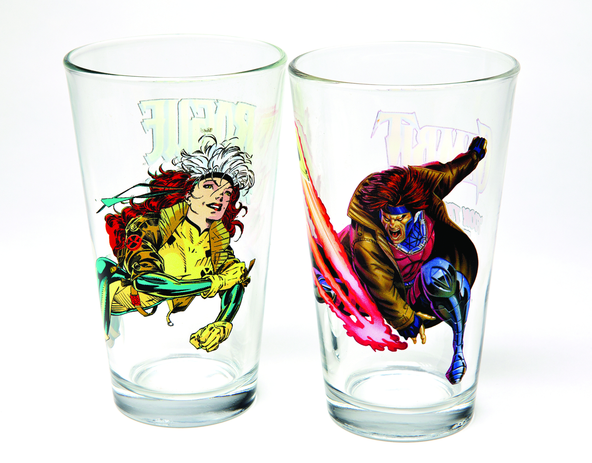 TOON TUMBLERS ROGUE CLEAR PINT GLASS