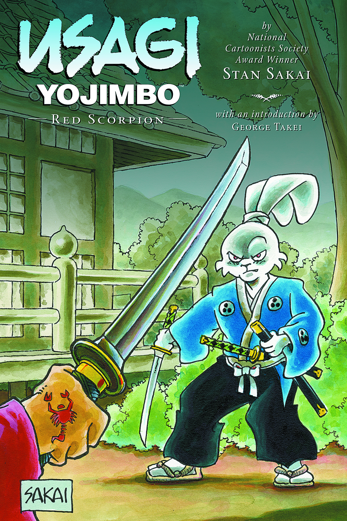 USAGI YOJIMBO TP VOL 28 RED SCORPION