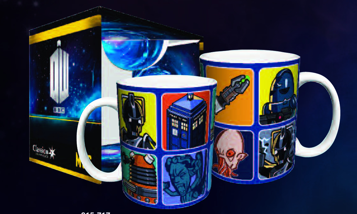 DOCTOR WHO CARTOONS MUG