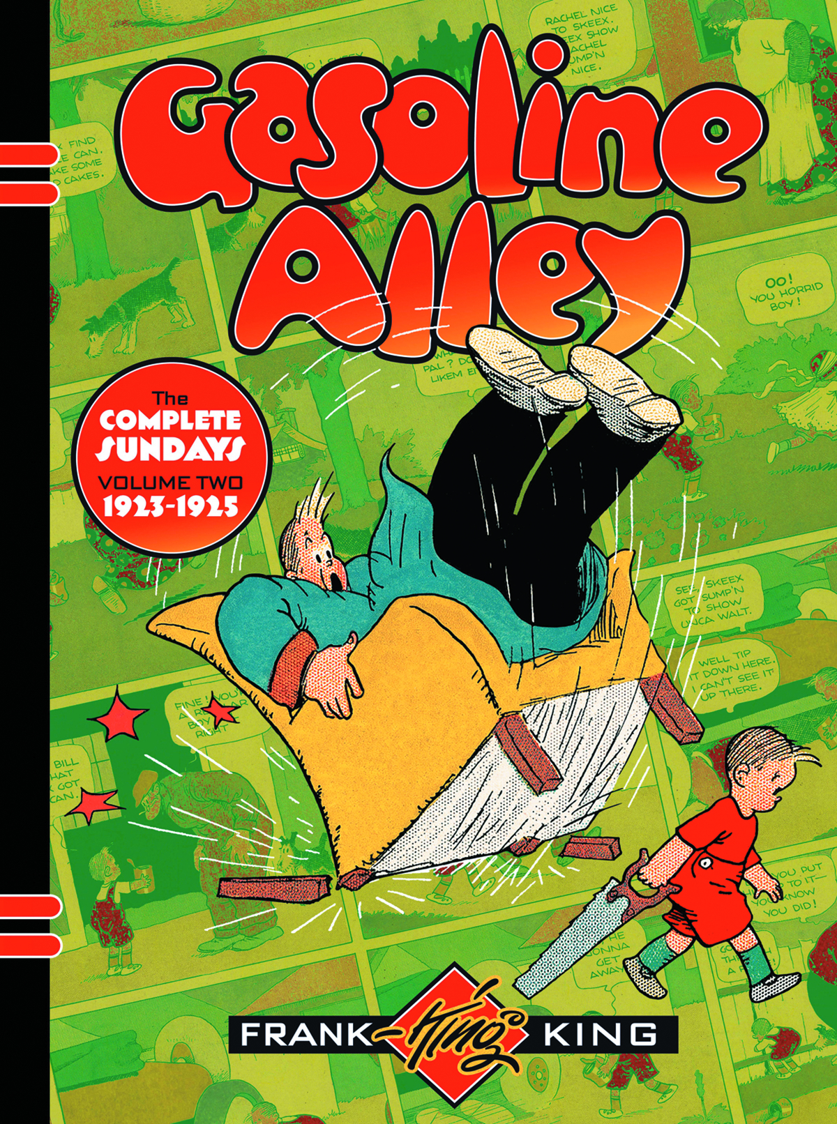 GASOLINE ALLEY HC VOL 02 COMPLETE SUNDAYS 1923-1925