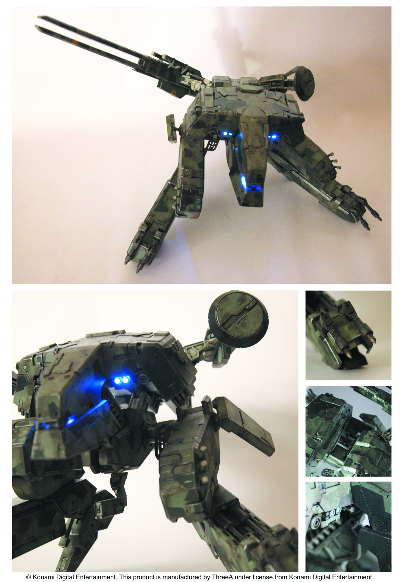 METAL GEAR SOLID REX FIG