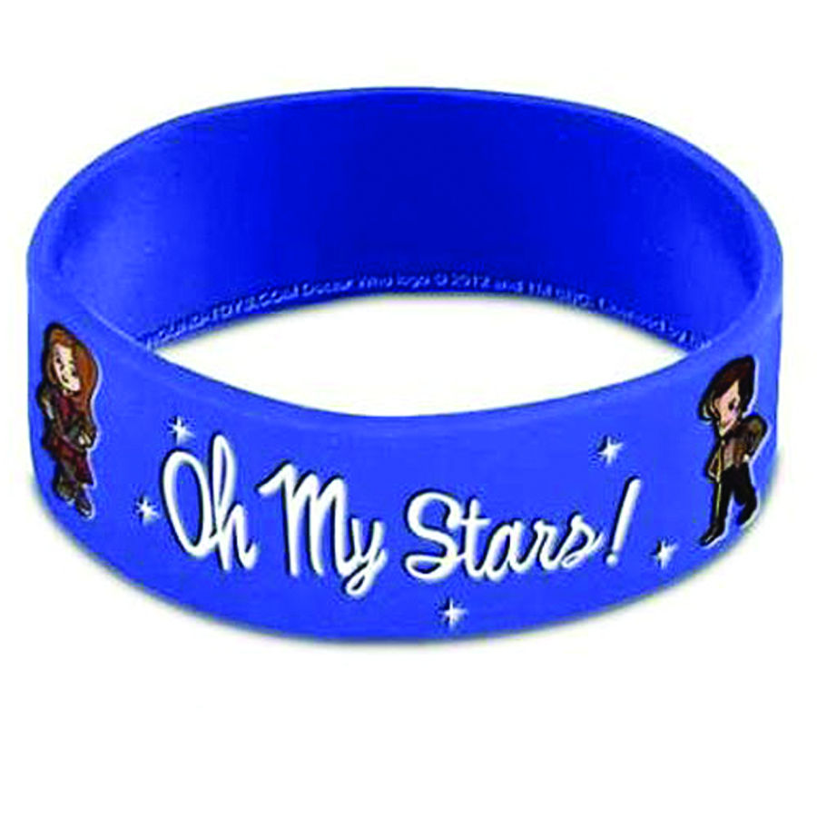 DOCTOR WHO OH MY STARS WRISTBAND