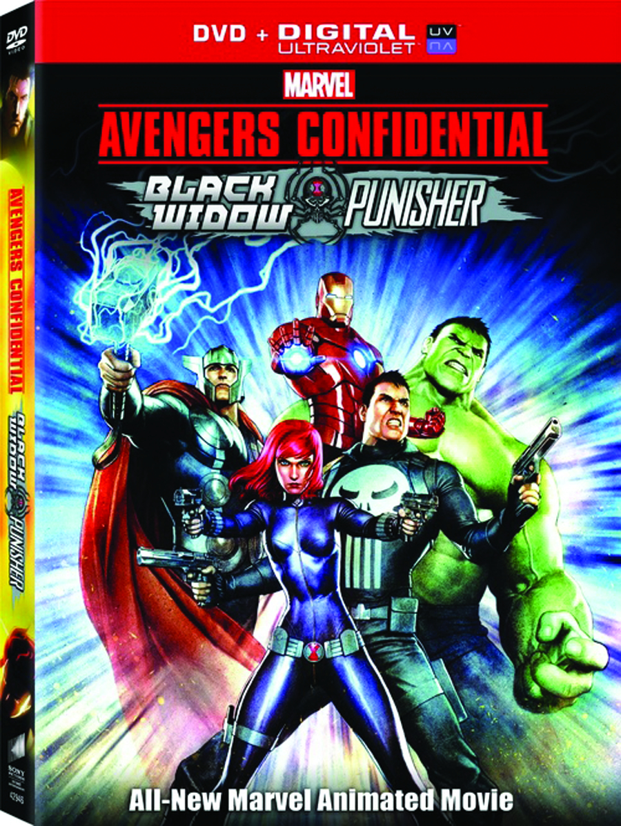 AVENGERS CONF BLACK WIDOW & PUNISHER DVD
