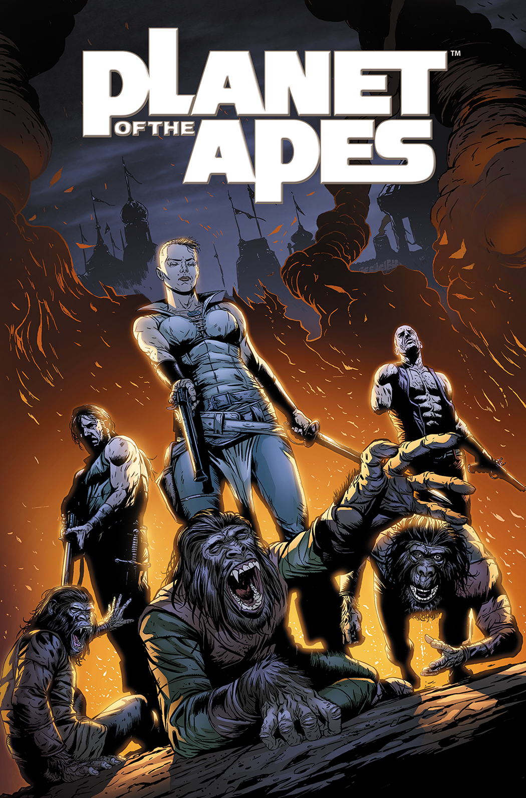 PLANET OF THE APES TP VOL 05