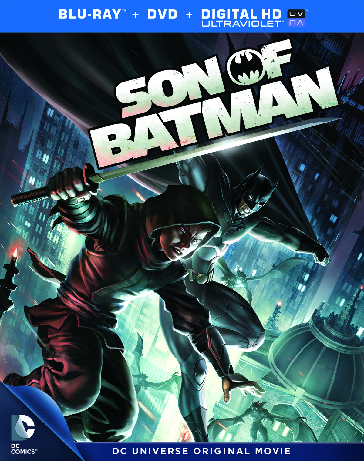 DCU SON OF BATMAN BD + DVD