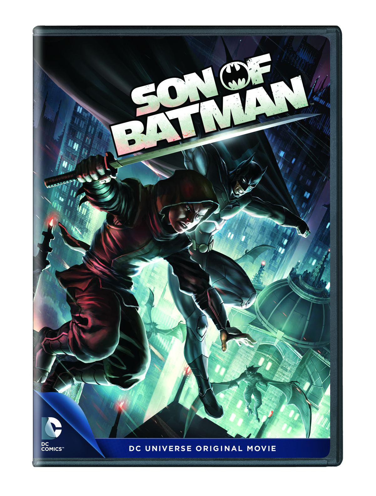 DCU SON OF BATMAN DVD
