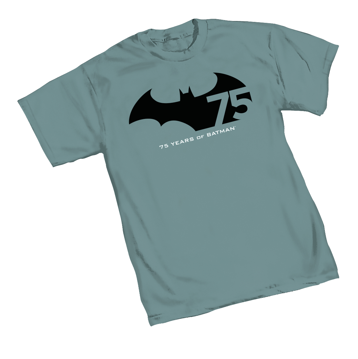 BATMAN 75TH ANNIVERSARY LOGO T/S SM