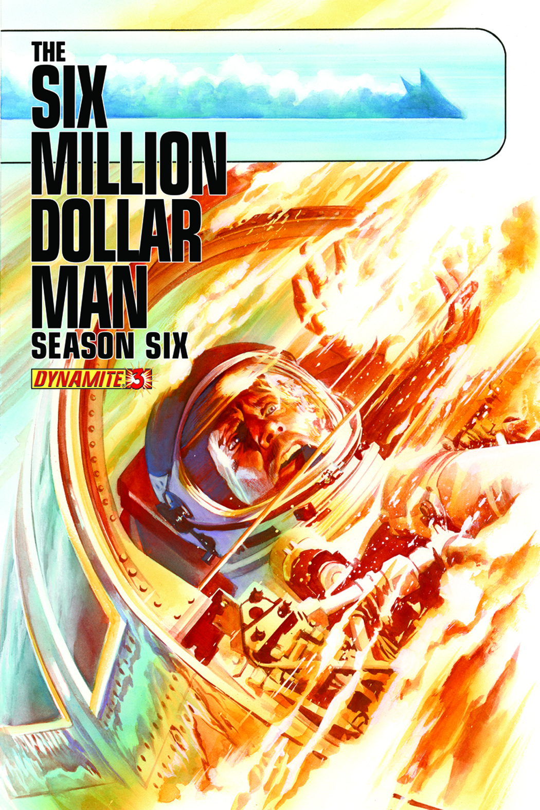 SIX MILLION DOLLAR MAN SEASON 6 #3 ROSS CVR