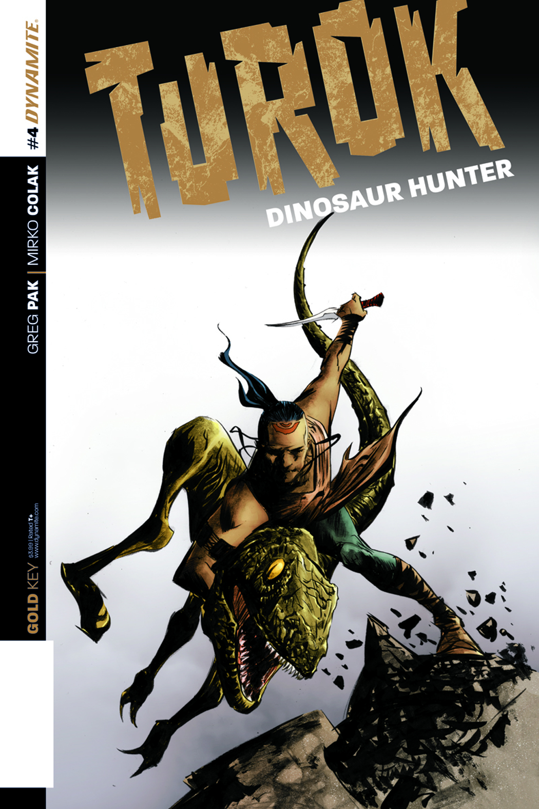 TUROK DINOSAUR HUNTER #4 LEE EXC SUBSCRIPTION VAR