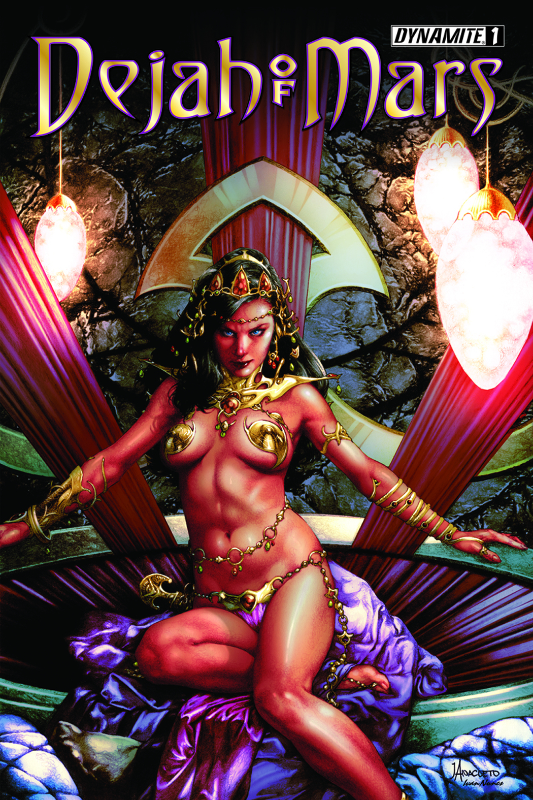 DEJAH OF MARS #1 (OF 4) (MR)