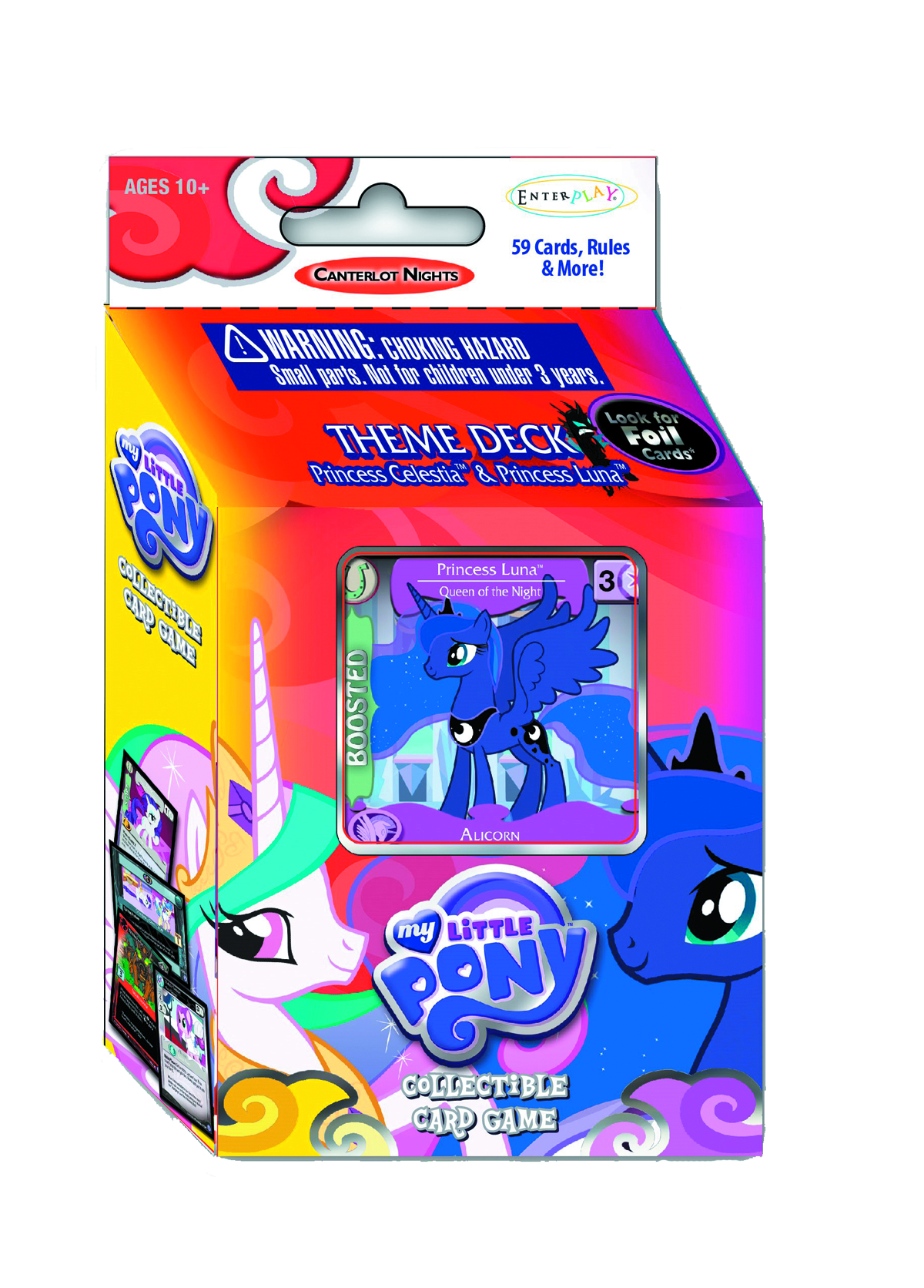 MLP CCG CANTERLOT NIGHTS THEME DECK DIS