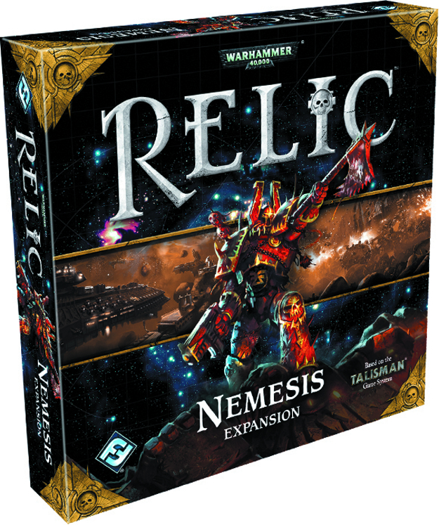 WH40K RELIC BOARD GAME NEMESIS EXPANSION