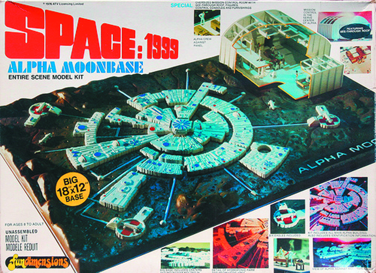 SPACE 1999 MOON BASE ALPHA 1/3200 SCALE MOD KIT