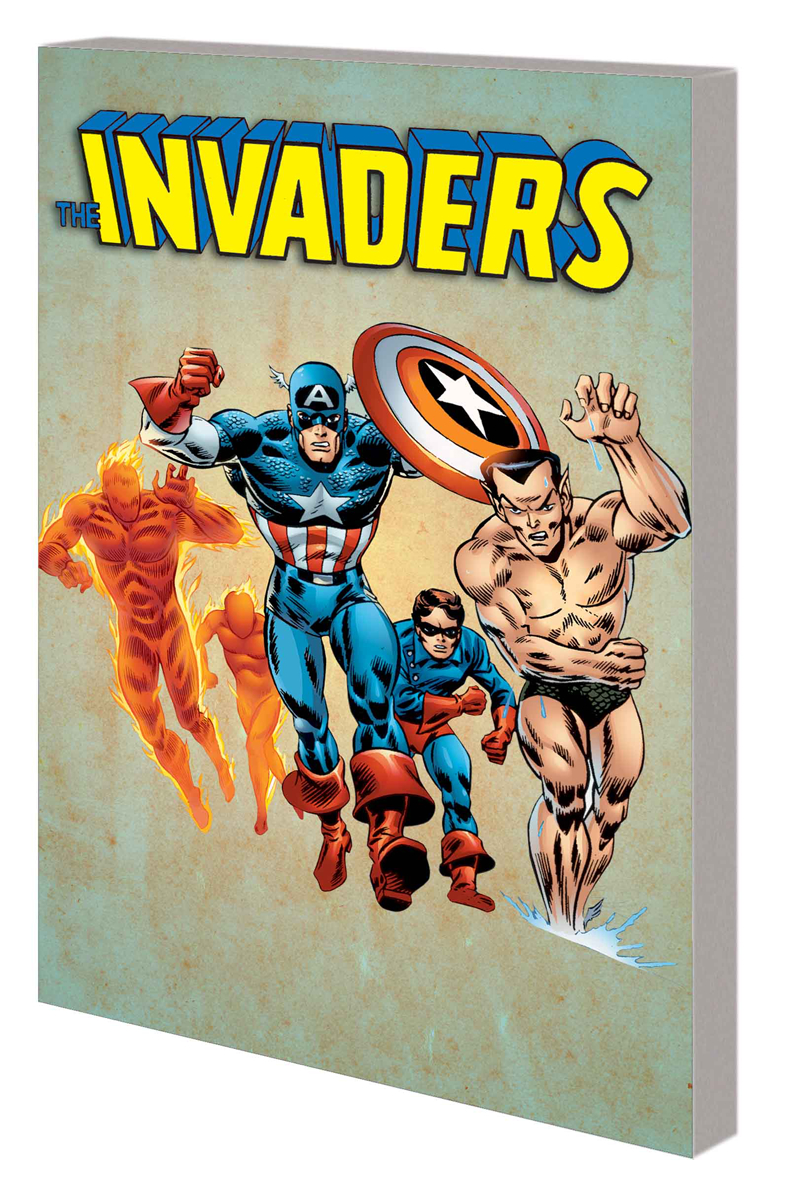 INVADERS CLASSIC TP VOL 01 COMPLETE COLLECTION