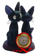 KIKIS DELIVERY SERVICE DIORAMA TABLE CLOCK