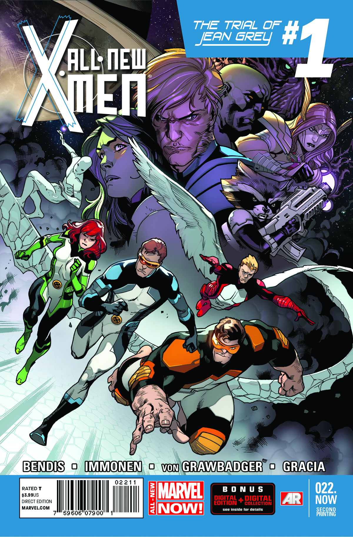 ALL NEW X-MEN #22.NOW 2ND PTG IMMONEN VAR ANMN (PP #1113)