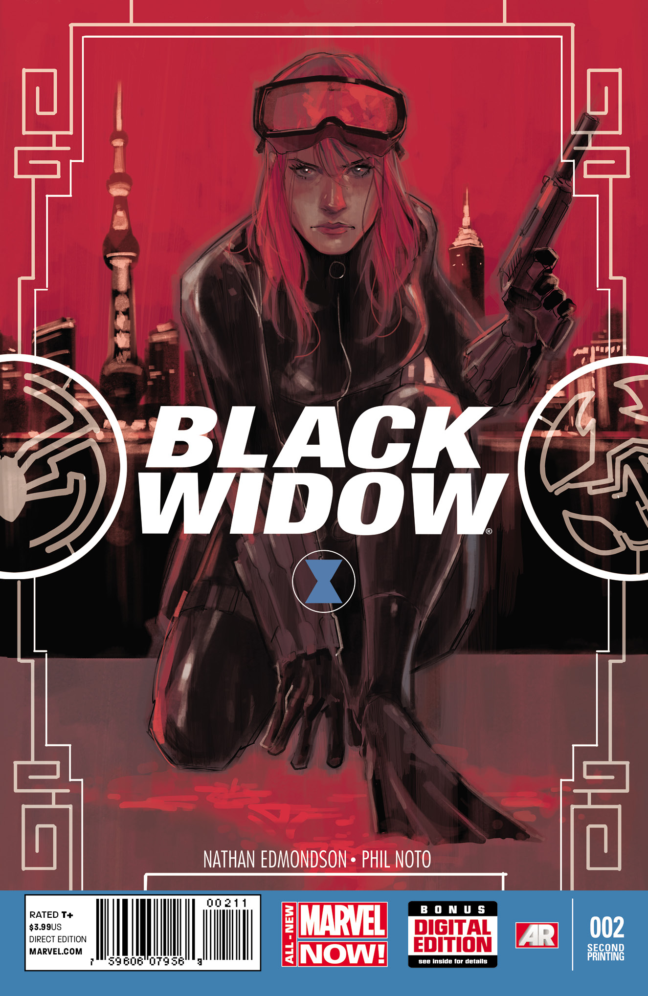 BLACK WIDOW #2 2ND PTG NOTO VAR ANMN