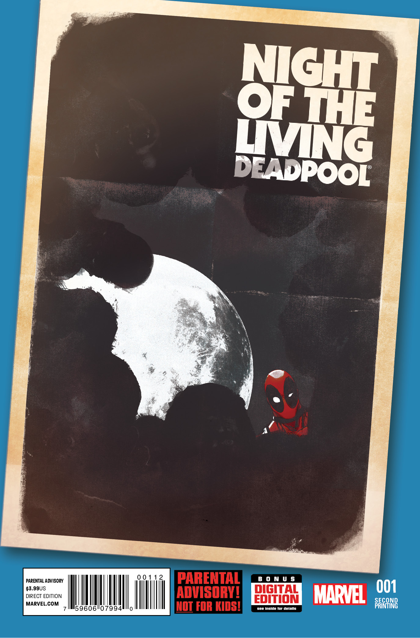 NIGHT OF LIVING DEADPOOL #1 (OF 4) 2ND PTG SHAW VAR