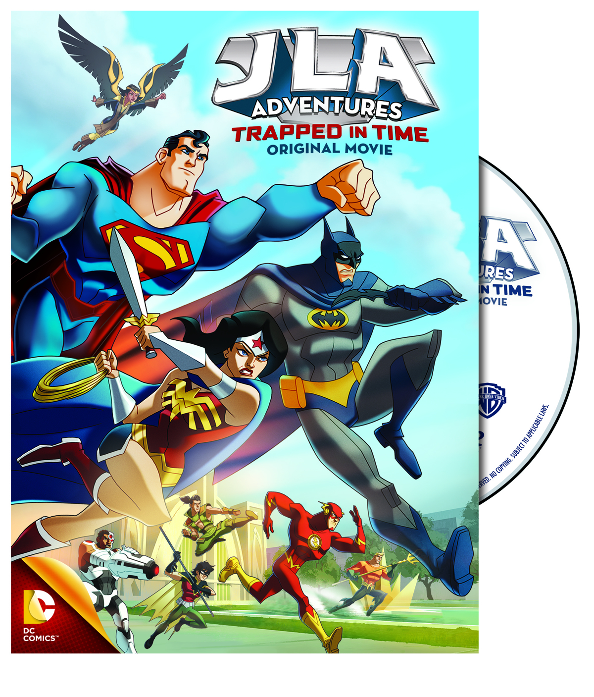 JLA ADVENTURES TRAPPED IN TIME DVD