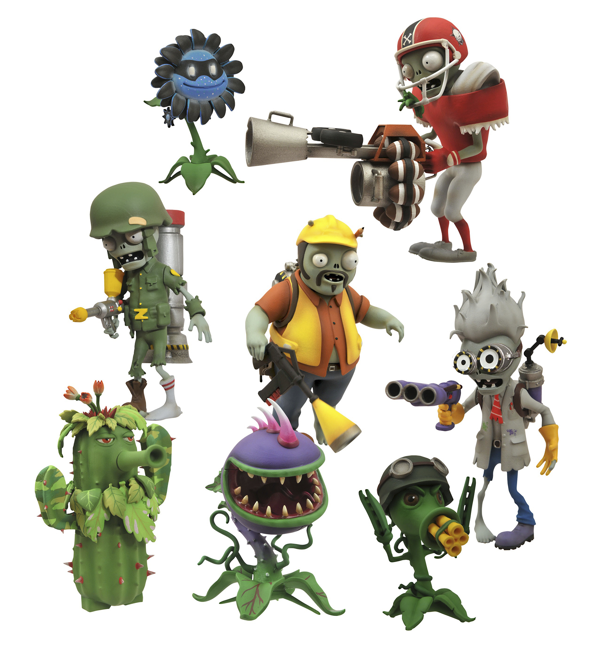 PLANTS VS ZOMBIES GARDEN WARFARE AF ASST