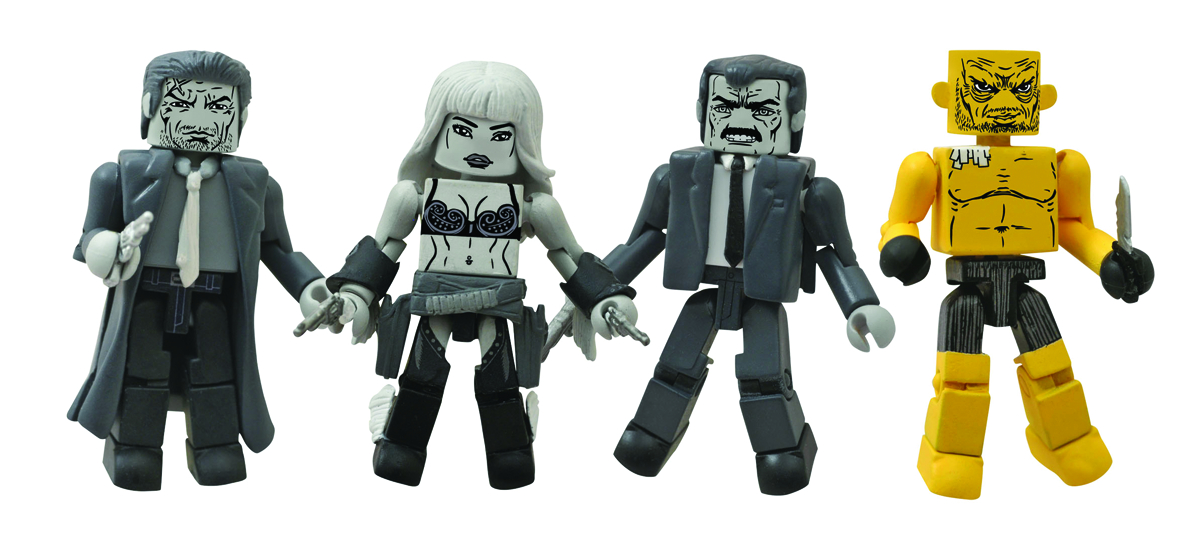 SIN CITY MINIMATES SER 1 BOX SET