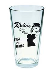 SIN CITY KADIES CLUB PINT GLASS