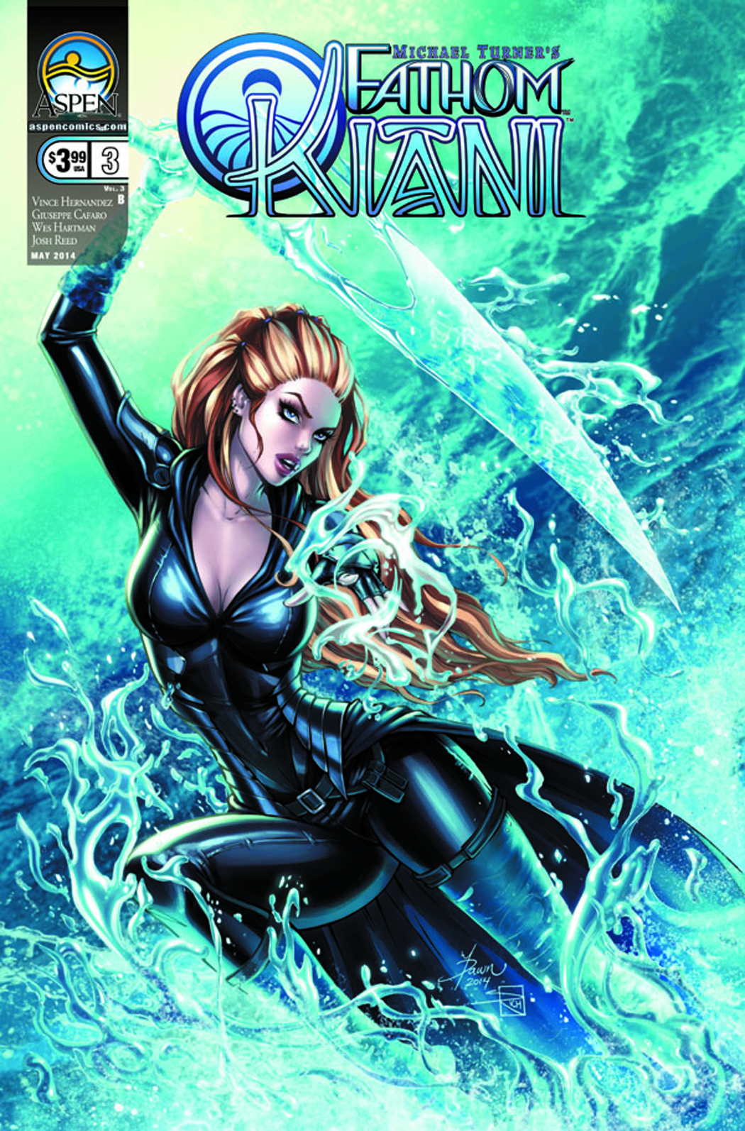 FATHOM KIANI VOL 3 #3 DIRECT MARKET CVR B