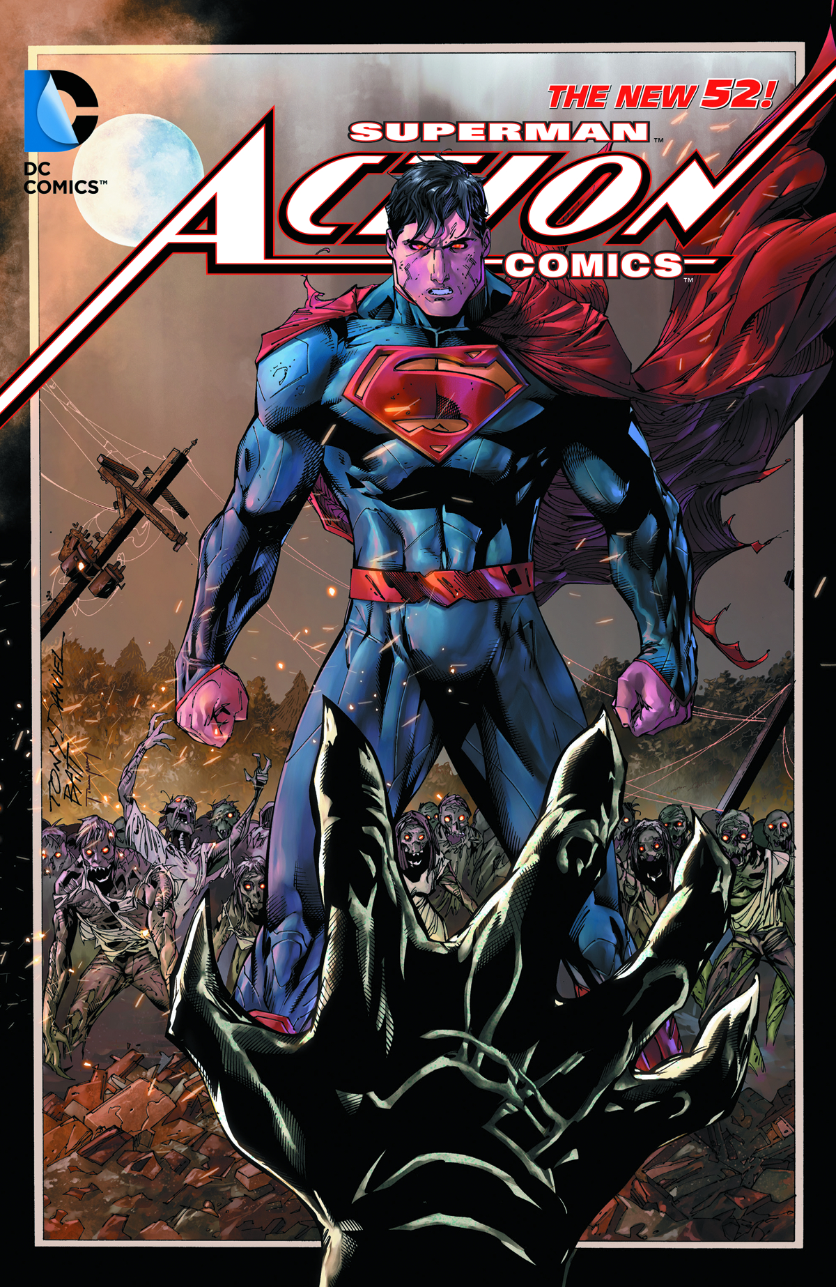 SUPERMAN ACTION COMICS HC VOL 04 HYBRID