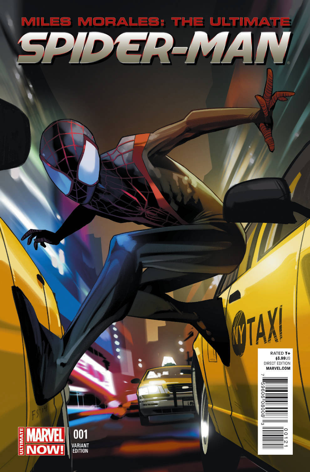 MILES MORALES ULTIMATE SPIDER-MAN #1 STAPLES VAR