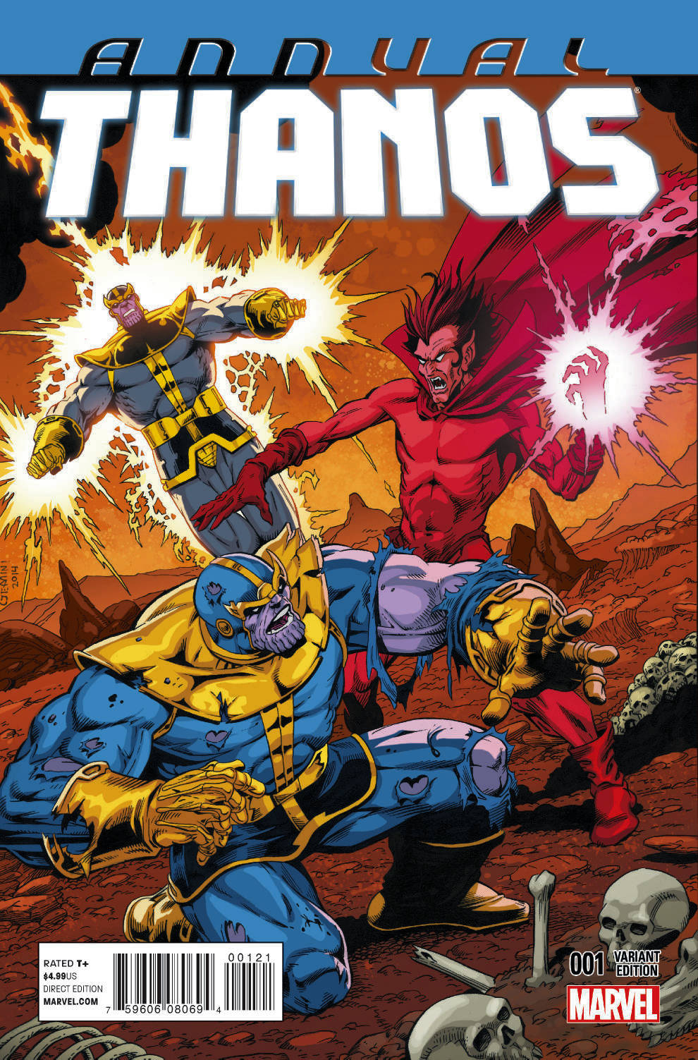 THANOS ANNUAL #1 STARLIN VAR