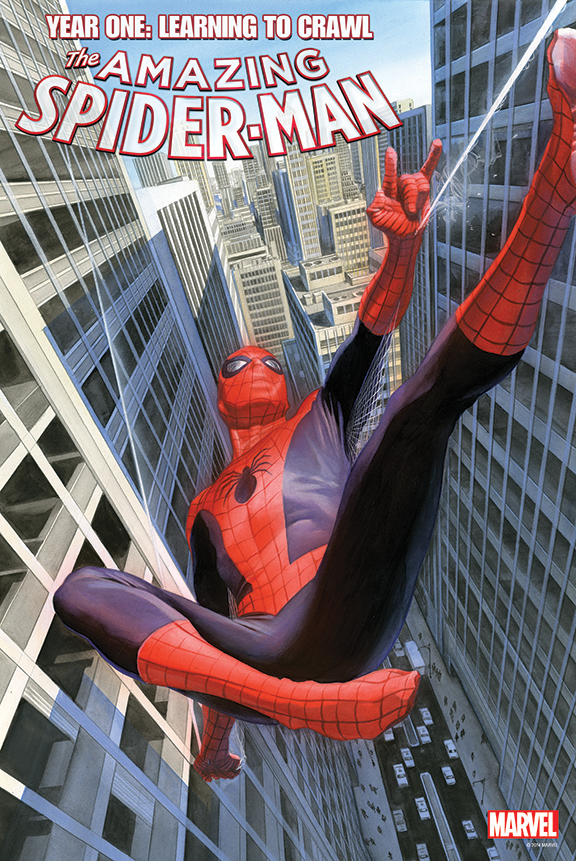 AMAZING SPIDER-MAN #1.1 BY ROSS POSTER