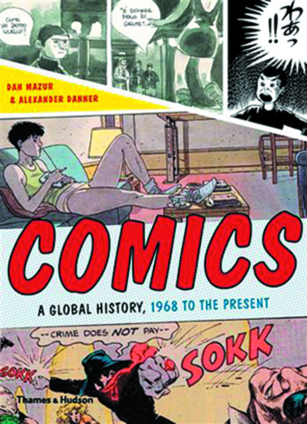 COMICS GLOBAL HISTORY 1968 TO PRESENT SC