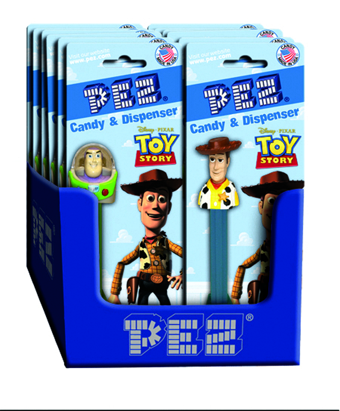 PEZ TOY STORY BLISTER PACK ASST