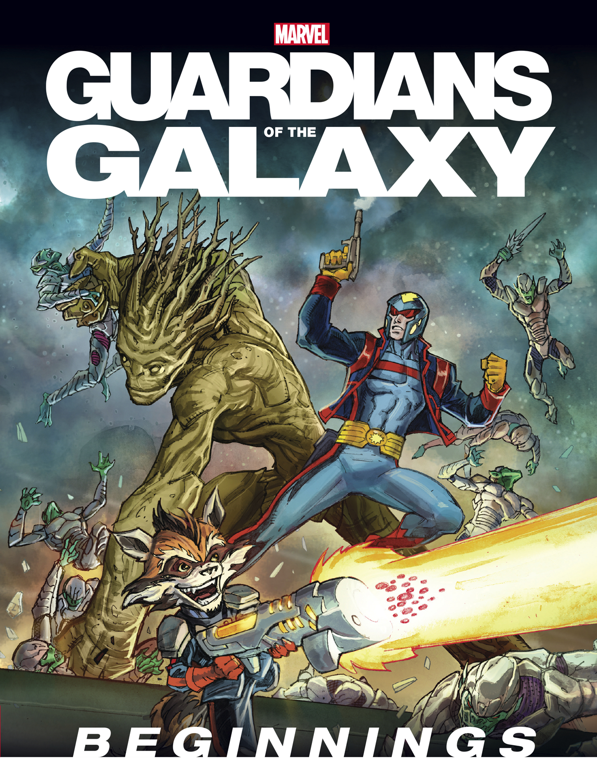 GUARDIANS OF GALAXY BEGINNINGS YR HC