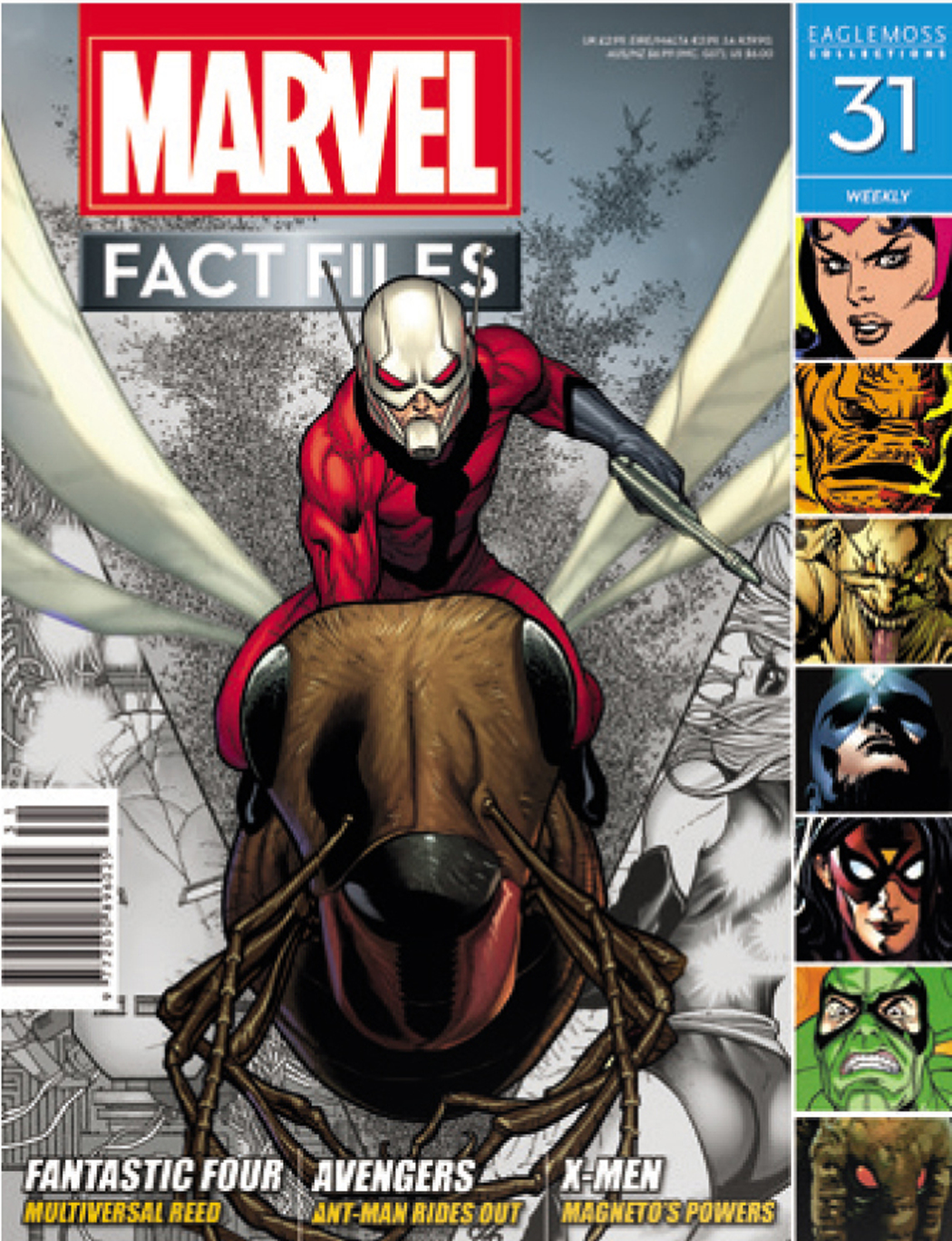 MARVEL FACT FILES #31 ANT-MAN COVER