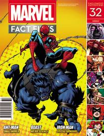 MARVEL FACT FILES #32 BEAST COVER