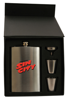 SIN CITY FLASK GIFT SET
