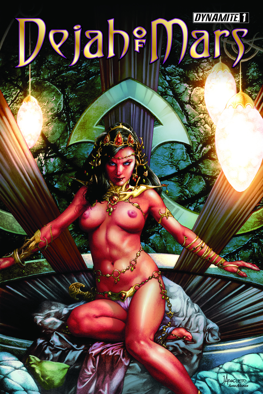 DEJAH OF MARS #1 (OF 4) 50 COPY ANACLETO RISQUE INCV