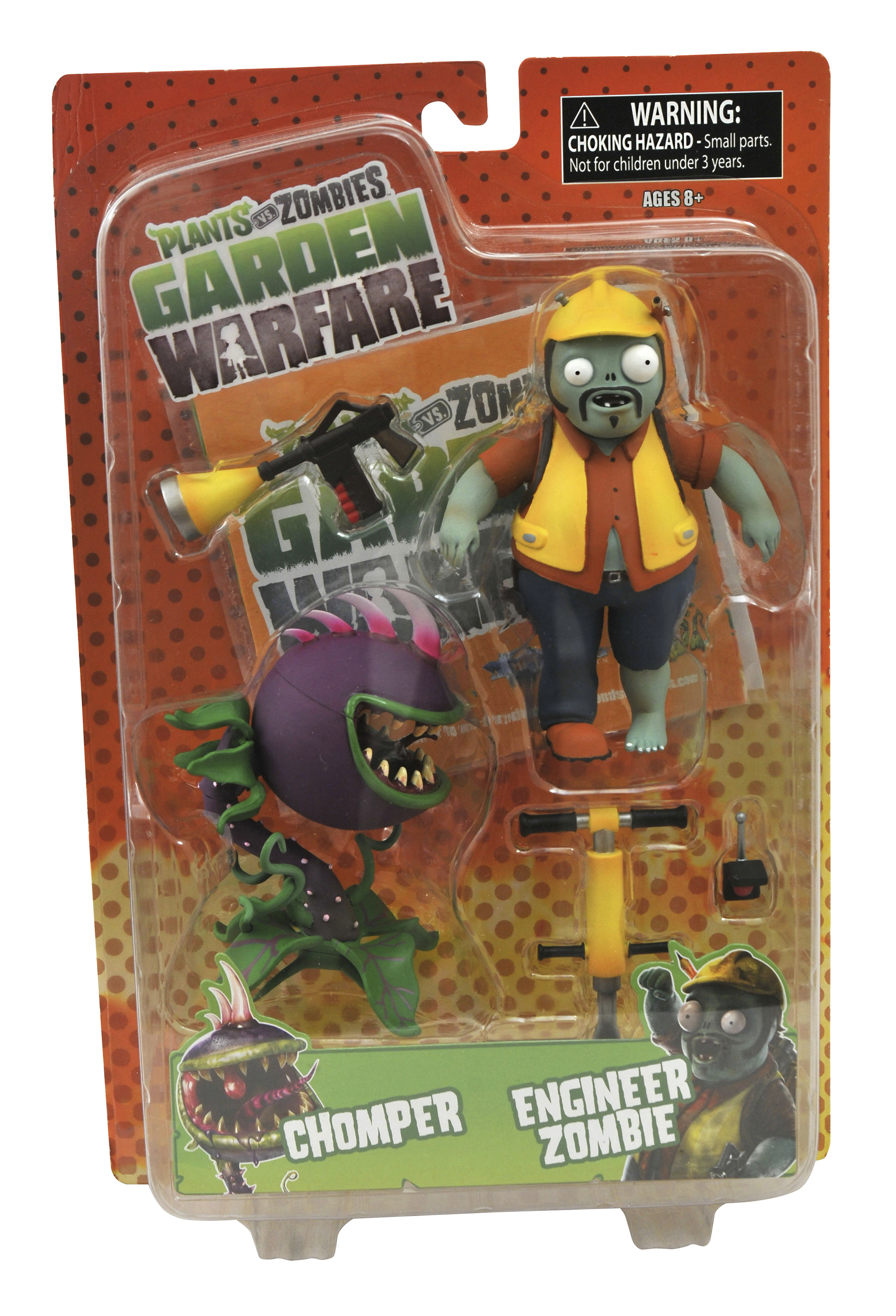 PLANTS VS ZOMBIES GW ENGINEER ZOMBIE AF