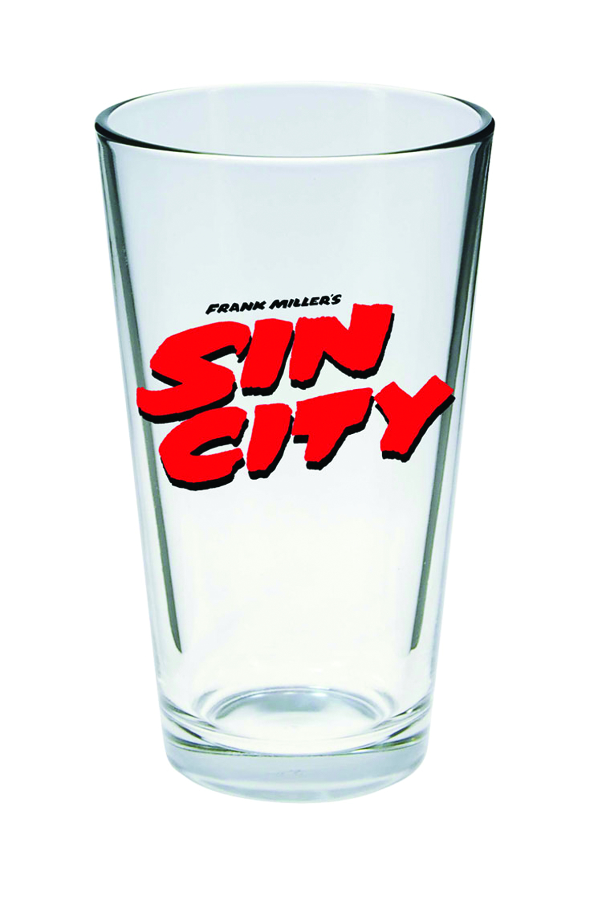 SIN CITY LOGO PINT GLASS