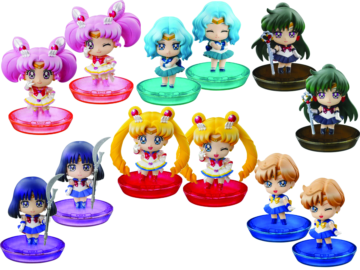 SAILOR MOON PS PETIT CHARA LAND 6PC BMB DS SER 02