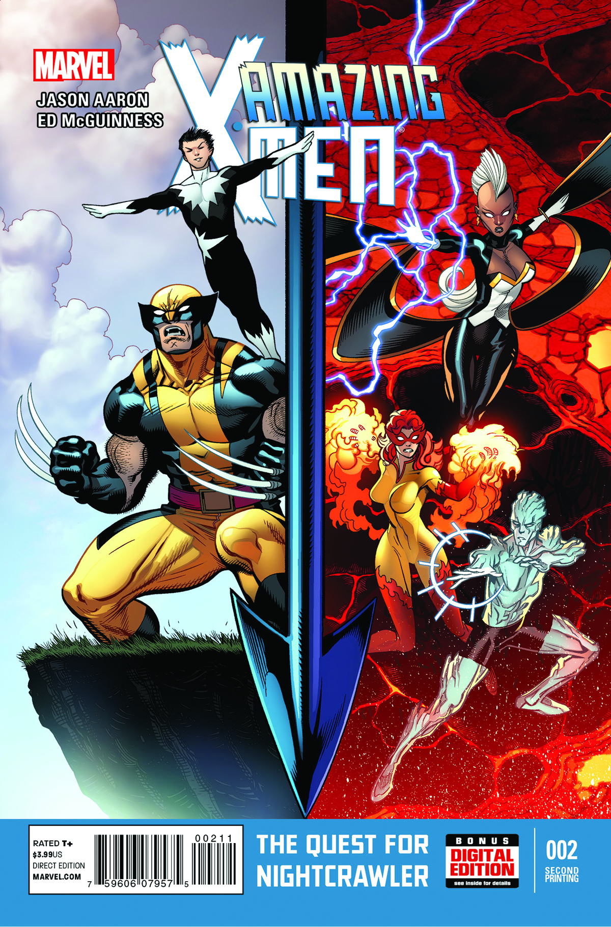 AMAZING X-MEN #2 2ND PTG MCGUINNESS VAR ANMN