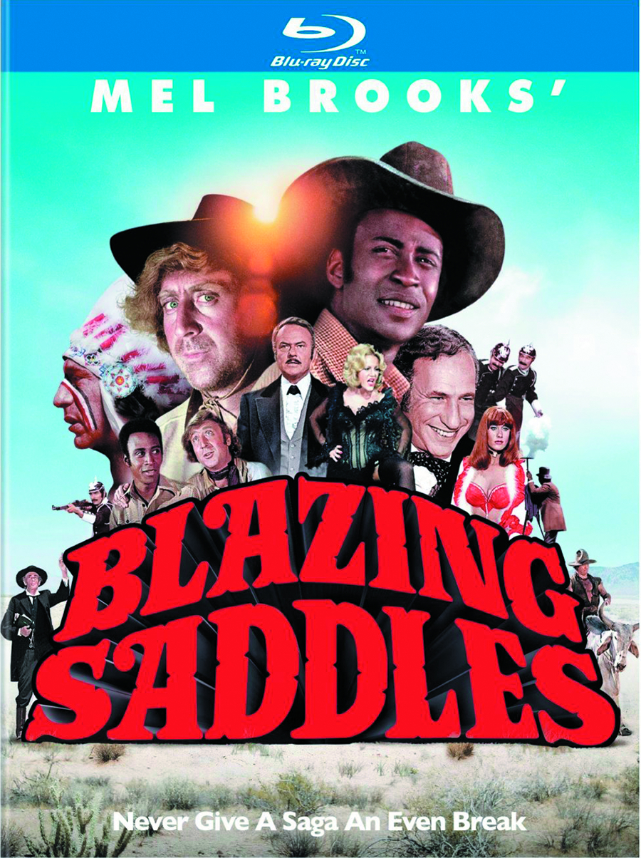 BLAZING SADDLES 40TH ANN BD