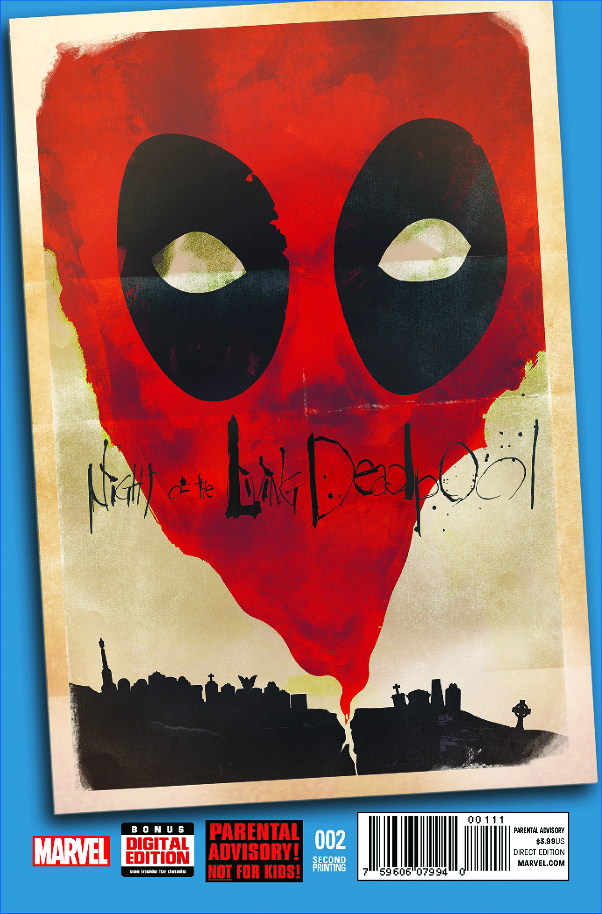 NIGHT OF LIVING DEADPOOL #2 (OF 4) 2ND PTG SHAW VAR
