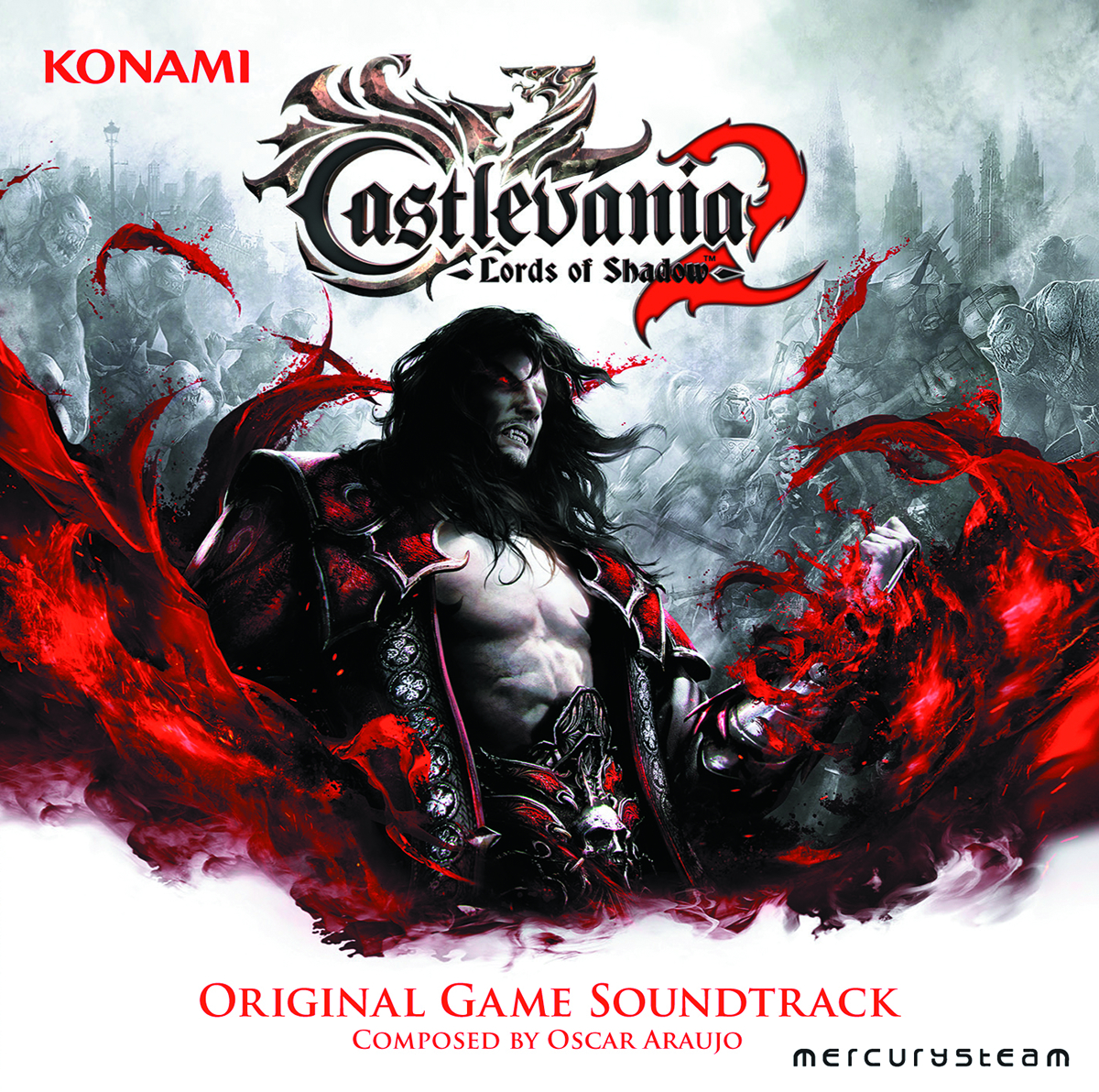 CASTLEVANIA LORDS OF SHADOW 2 OST CD