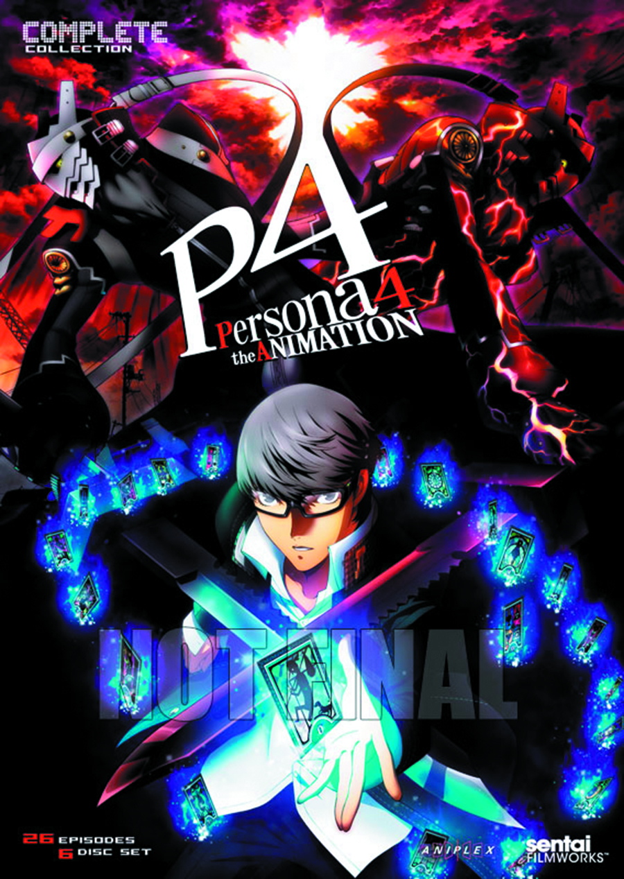 PERSONA 4 THE ANIMATION COMP COLL DVD