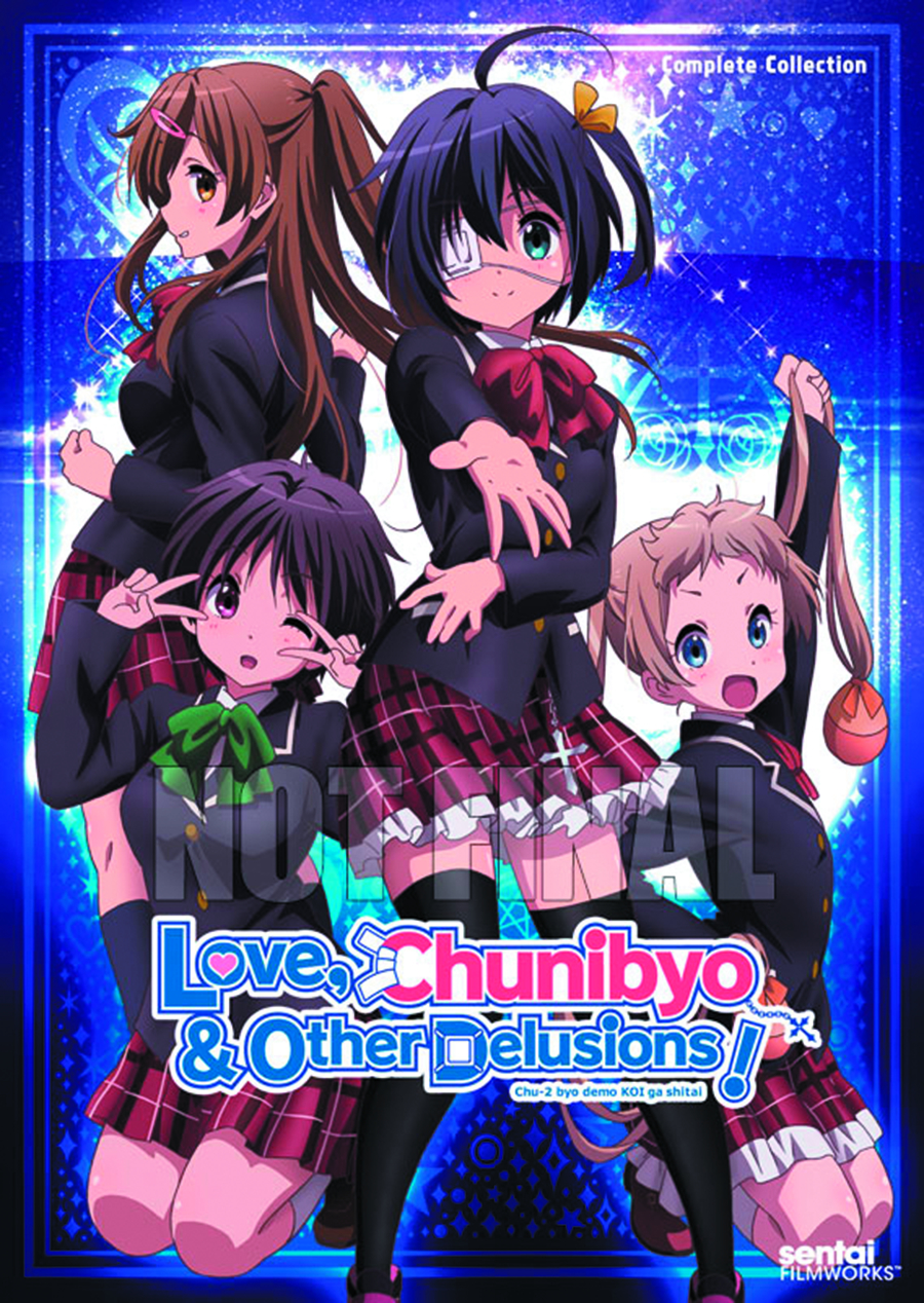 LOVE CHUNIBYO & OTHER DELUSIONS COMP COLL DVD