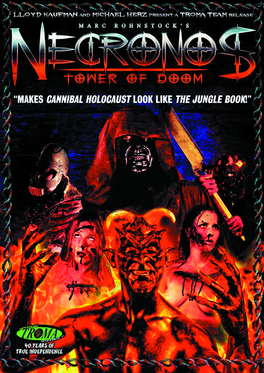 NECRONOS TOWER OF DOOM DVD