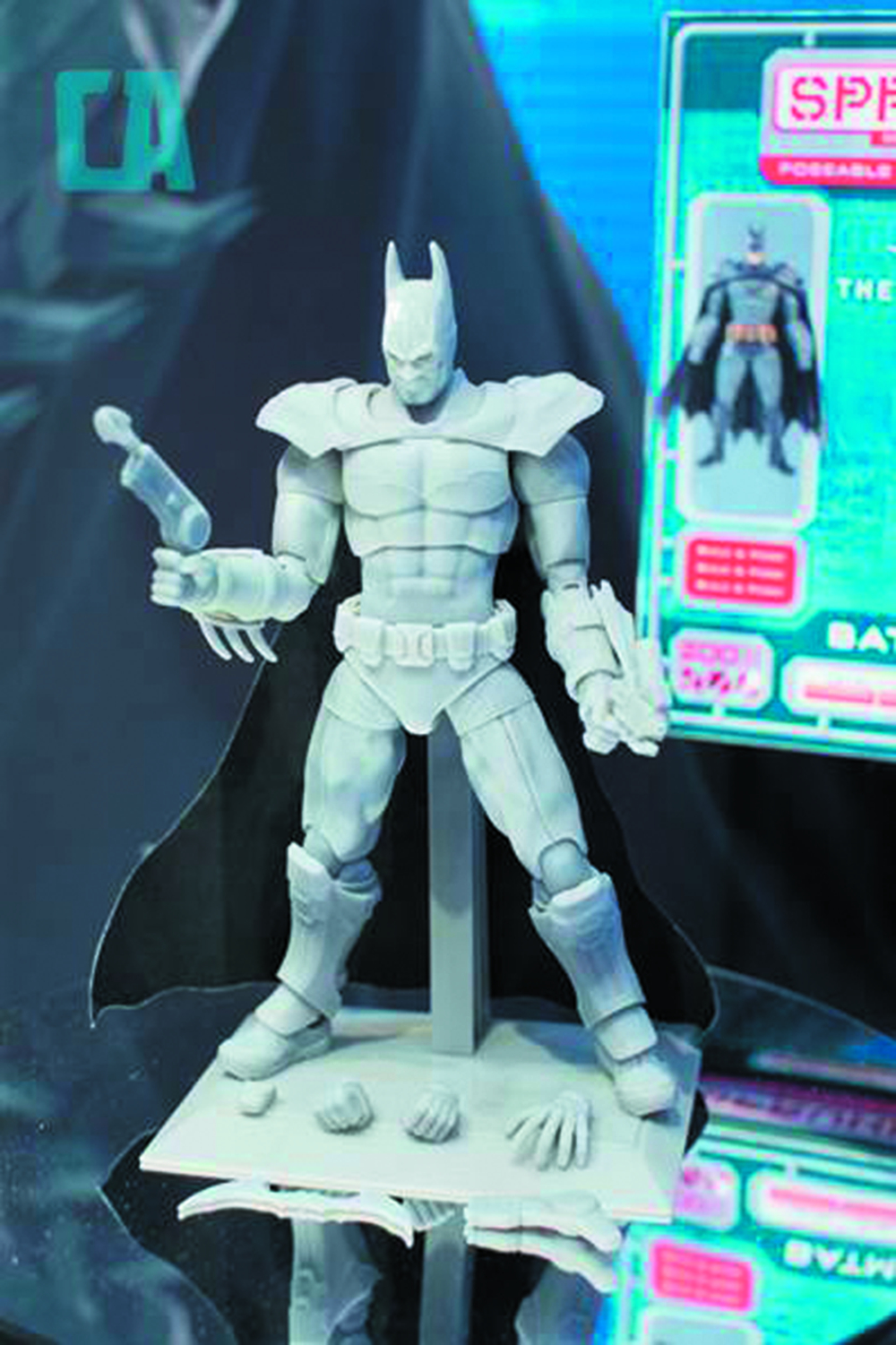 SPRUKITS DC LEVEL 3 BATMAN ARKHAM FINAL MOD KIT