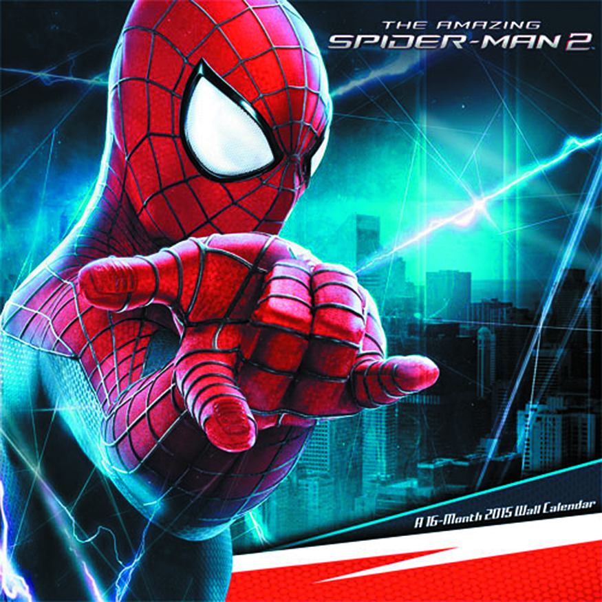 AMAZING SPIDER-MAN 2 2015 16 MONTH WALL CAL